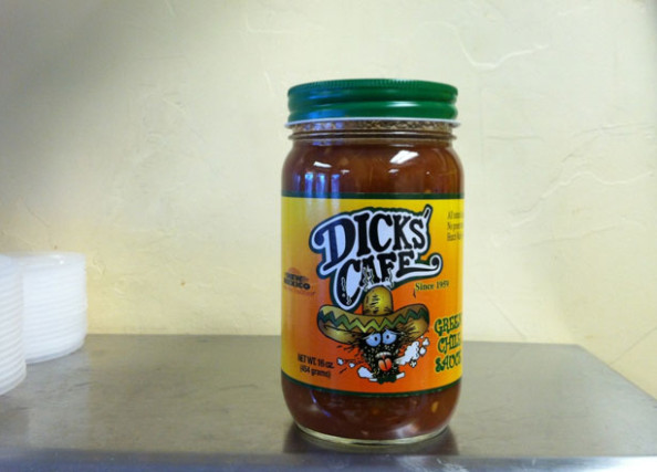 Dick's Cafe Green-Chile-Sauce
